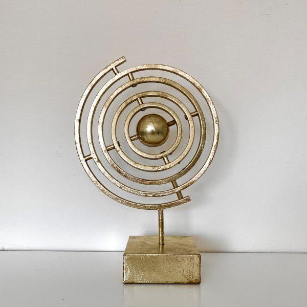 Ornament atmosfeer goud