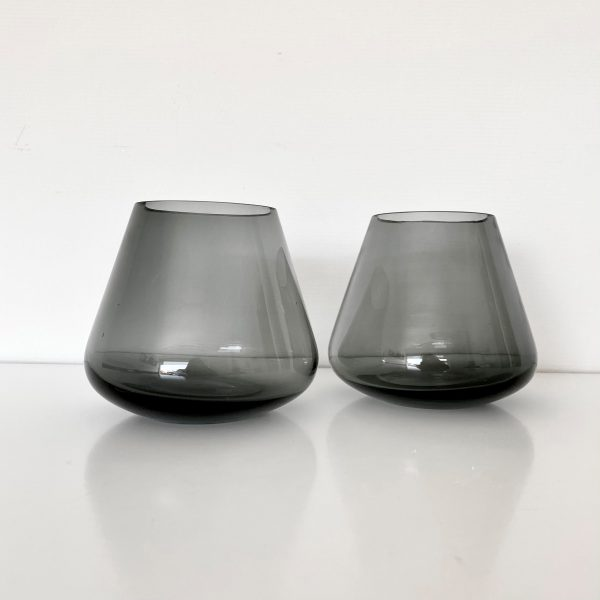 Waxinelichthouder rookglas